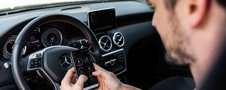 Όλες οι υπηρεσίες του Mercedes me Adapter με μια ματιά